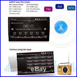 10.1 Touch Car Stereo Player Double Din FULL HD GPS Radio Bluetooth Wifi OBD TV