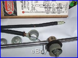 1930's-40's Snyder Vintage side mount Radio Antenna Red ball Chrome NIB