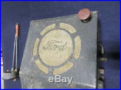 1935 1936 Ford Accessory Open Car Radio Convertible Roadster Cabriolet 35 36