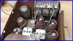 1936 Pontiac Deluxe RADIO Original GM model 983506