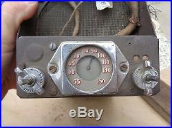 1937 Buick SUPERHETERODYNE RADIO Original GM Center Line Model 980534