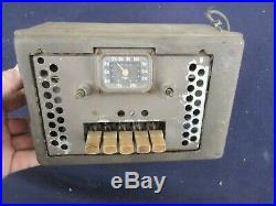 1939 Chevy Accessory Dash Radio 39