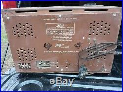 1940's Vintage Conntental Bakelite Radio S-46917 Art Deco Rare Parts or Repair