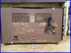 1950's Vintage Grundig Tube Radio Model 997 Repair or Parts West Germany