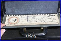 1950s Zenith Trans Oceanic Wave Magnet Tube Radio Vintage As Is Parts repair