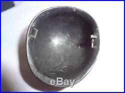 1964 1967 Vintage GI Joe Airborne Black MP Helmet & Radio For Parts Repair L@@K