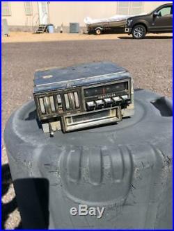 1970 E or C body Cuda Barracuda or Challenger radio 8 track original vintage OEM