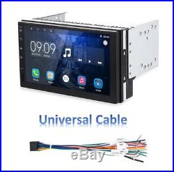 2 Din Capacitive Screen Car GPS Nav Stereo Quad-core Wifi DVR FM/AM Radio Player