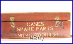 3X Vintage Military Radio/AMP Cases Spare Parts NO. ZD00434 Bulgin list no. P112