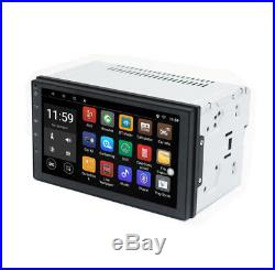 7 Android 6.0 2DIN Navigation Sat Nav Car GPS Stereo Radio Wifi CAN HD Player