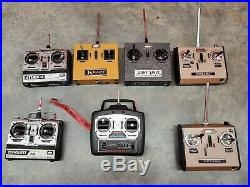 7 Lot Vintage RC Radio Controller Parts Kraft super sport Futaba untested