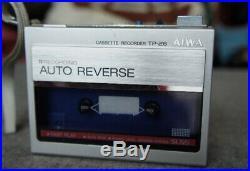 AIWA TP26 Vintage Walkman cassette recorder For Parts/Repair Only F/S