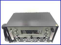 AJAX A75 Leader Marine Radio Telephone RARE Vintage For Refurbished or Partes