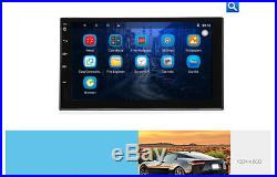 Android 6.0 2Din Car Stereo Radio Player GPS Navigation Wifi Universal 7 with Map