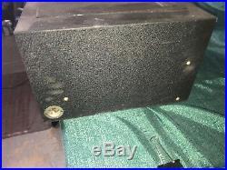 Antique vintage variable transformer GE Weston Simpson parts from radio station