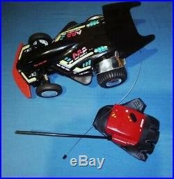 Asahi Radio Control Turbo Bionic Black 12'' Car Glove Rc Vintage Used For Parts