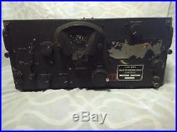 BC-348-R WW2 US Military Tube Radio Rcrv Vintage Signal Corps Parts/Restoration
