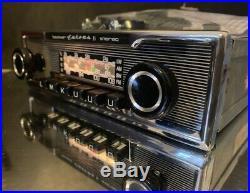 BECKER EUROPA II STEREO 772 Vintage Classic Car Radio BLUETOOTH MODERN INTERNALS