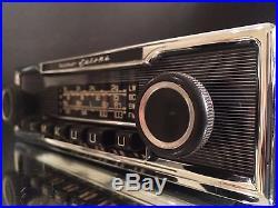 BECKER EUROPA Vintage Chrome Classic Car FM RADIO +MP3 MINT 1 YEAR WARRANTY