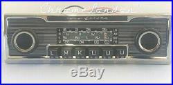 BECKER EUROPA Vintage Chrome Classic Car FM RADIO +MP3 Mercedes WARRANTY MINT