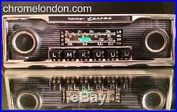 BECKER EUROPA Vintage Classic Car FM RADIO +MP3 MINT RESTORED FULL WARRANTY