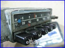 BLAUPUNKT Autoradio vintage Blaupunkt RADIO 1970s VINTAGE PORSCHE BMW MERCEDES