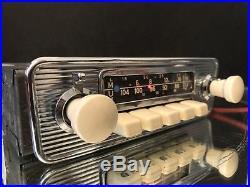 BLAUPUNKT FRANKFURT STEREO Ivory Vintage Classic Car FM Radio +MP3 WARRANTY