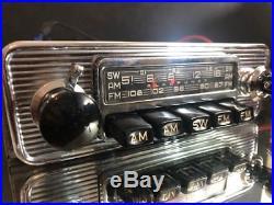 BLAUPUNKT FRANKFURT US STEREO Vintage Classic Car FM RADIO +MP3 MINT WARRANTY