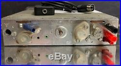 BLAUPUNKT FRANKFURT US Vintage Chrome Classic Car FM Radio +MP3 WARRANTY Porsche