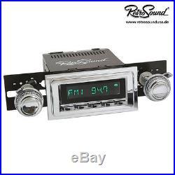 BUICK RIVIERA 1970-1973, Vintage car Car Stereo Radio, RetroSound ZUMA, USB