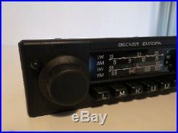 Becker Europa 460 Vintage Mercedes Benz Radio W123 W115