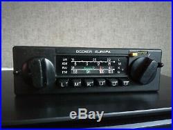Becker Europa 598 Kurier, vintage car radio, Mercedes Benz w115, w116, w123