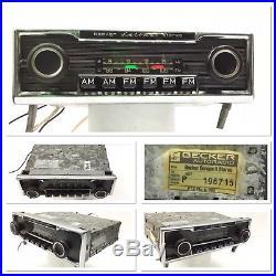 Becker Europa II AM/FM Stereo Radio Mercedes BMW Porsche VW Vintage Classic