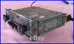 Becker Europa Mono Vintage AM FM MU Pinstripe Mercedes Radio W114 W115 Tested