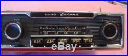 Becker Europa Vintage AM FM MU Pinstripe Mercedes W114 Radio