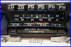 Becker Europa Vintage AM/FM Radio Cassette 599 With Music Streaming & Handsfree