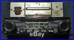 Becker Grand Prix Radio with Amp Mercedes Vintage