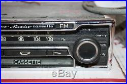 Becker Mexico Vintage AM FM Radio Mercedes Cassette Stereo with AMP