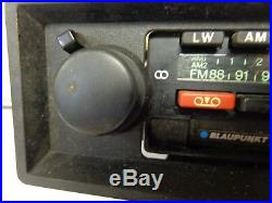 Blaupunkt Bamberg USA Car Stereo Late 70's Vintage AM/FM Radio Cassette Porsche