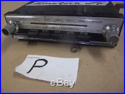 Blaupunkt Colmer radio. Working fine. Vintage. 1300+Citroen parts in shop