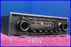 Blaupunkt Frankfurt Vintage Chrome Radio Z Series Pinstripe 60s70s With Speaker