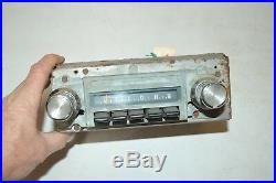 Blaupunkt factory AM-FM RADIO old Classic vintage RETRO old original VW Porsche