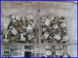 Box/Tray many Vintage Ham Radio Parts
