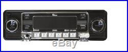 Car Radio Vintage 60's Look AM FM iPOD & USB CD SD MP3 Bluetooth Classic Style
