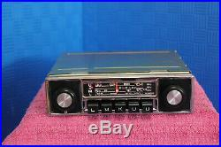 Classic Vintage 70's Hitachi KM-1500 LMKUU Chrome Radio NOS Perfect