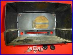 Classy Vintage / Antique EMERSON 587A of Late 40s Restoration Rejuvenation Parts