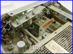 Collins 32S-1 Vintage Ham Radio Transmitter Winged Emblem WE Parts Unit SN 10768