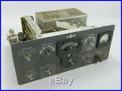 Collins 32S-1 Vintage Ham Radio Transmitter Winged Emblem WE Parts Unit SN 2671