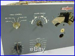 Collins 32S-1 Vintage Ham Radio Transmitter Winged Emblem WE Parts Unit SN 3018