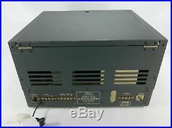 Collins 75A-4 Vintage Ham Radio Receiver for Parts or Restoration SN 3304